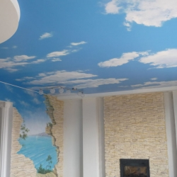 Фотопотолок небо в Гомеле