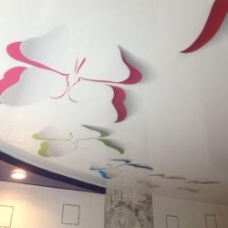 Арт-потолки с бабочками, купить в Гомеле