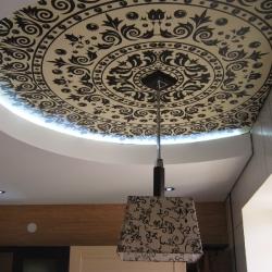 Арт-потолки с узорами, купить в Гомеле