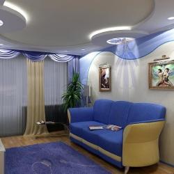 Стильный потолок для студии в Гомеле