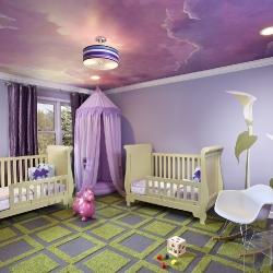 Сказочный потолок в детскую