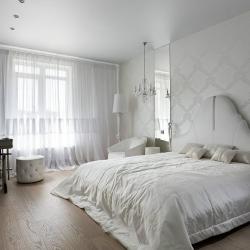 Светлый потолок в спальню в Гомеле