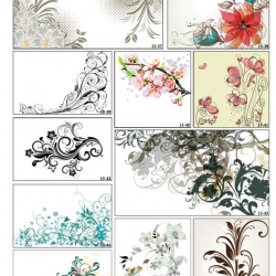 Фотопечать орнаменты цветочные