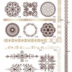 Фотопечать декоративные орнаменты