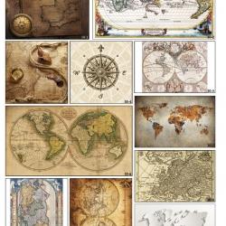 Фотопечать карты и компасы