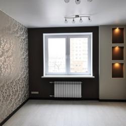 Сатиновый потолок в зале в Гомеле