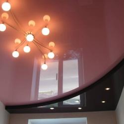 Стильный двухуровневый потолок в Гомеле