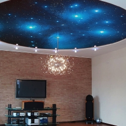 Звездное небо, потолок с созвездиями