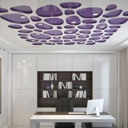 Фиолетовый резной потолок Apply в Гомеле