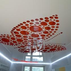Резной потолок Apply с бабочкой в Гомеле